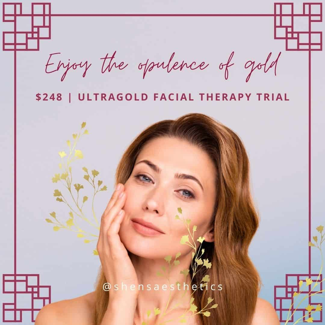 24K Ultragold Face Therapy